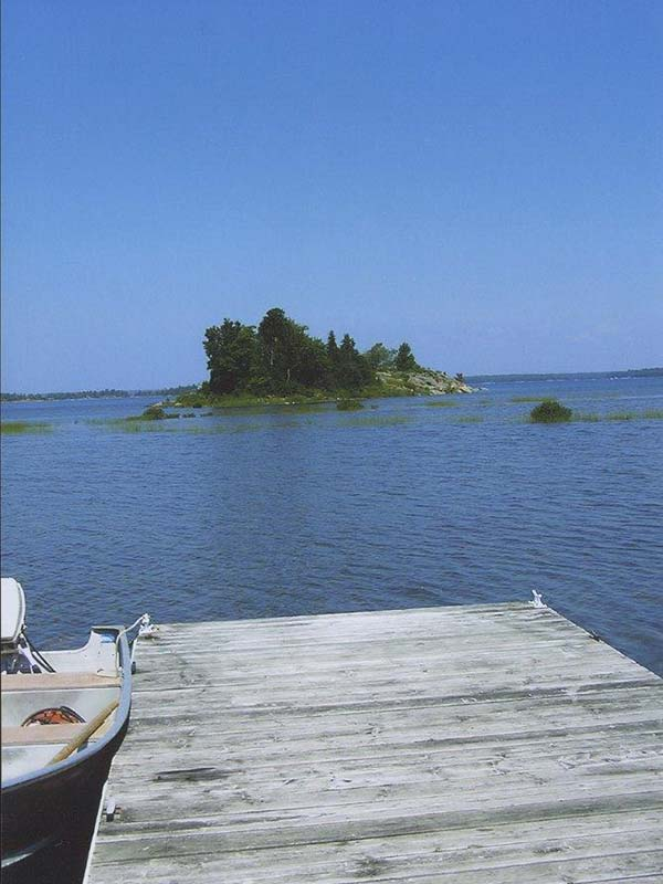 Dock at Ingersoll Island